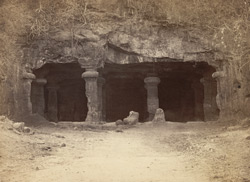 Elephanta Great Rock Temple - The Entrance